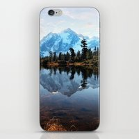 Mt Shuksan iPhone & iPod Skin