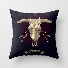 Beelzebub ♆ Throw Pillow