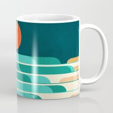 Chasing Wave Under The R… Mug
