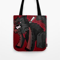 Curse Of The Furry Wereb… Tote Bag