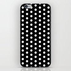 Black White Dots iPhone & iPod Skin