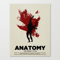 ANATOMY Canvas Print