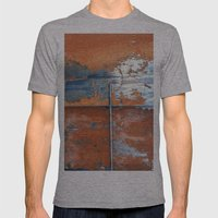 Rust and Metal Mens Fitted Tee Athletic Grey SMALL
