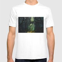 Dark Forest (VACANCY Zin… Mens Fitted Tee White SMALL