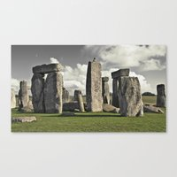 moon henge... Canvas Print