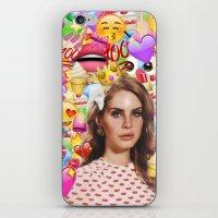 LANA DEL EMOJI iPhone & iPod Skin