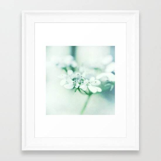 Petit Fleur Framed Art Print