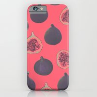 iPhone Cases featuring Fig pattern by Georgiana Paraschiv
