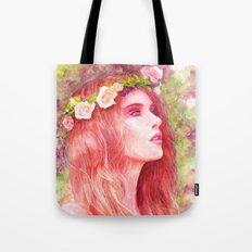 Flowering Tote Bag