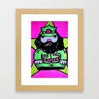 CHEEE ! Framed Art Print