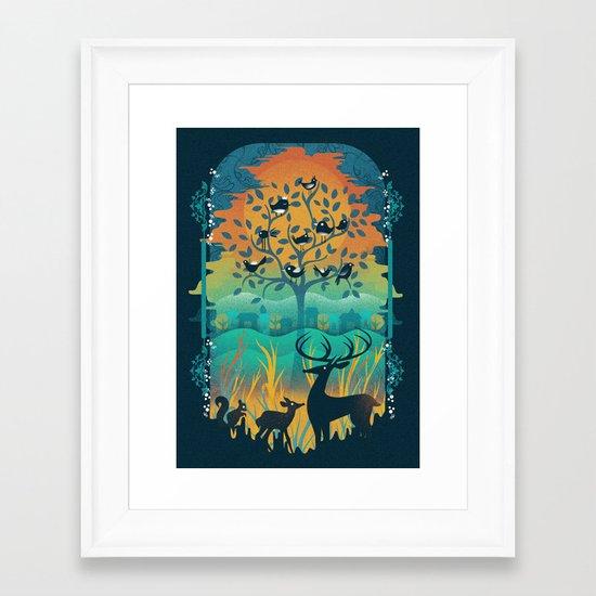 Natural Wonders Framed Art Print
