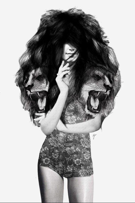 Lion #1 Art Print