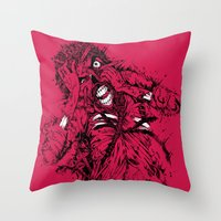 STRESSED-OUT Throw Pillow