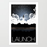Launch: A Tribute To The… Art Print