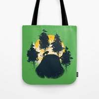 Wildlife Habitat Tote Bag