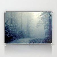 Wander In A Woodland Fog Laptop & iPad Skin