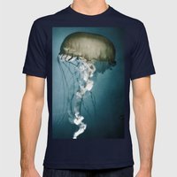 Sea Lantern Mens Fitted Tee Navy SMALL