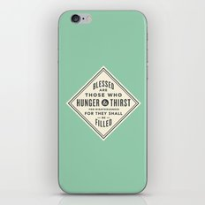 Hunger & Thirst iPhone & iPod Skin