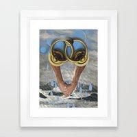 Beach Sex Only Works In … Framed Art Print