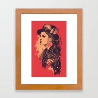 NOCTURNA Framed Art Print