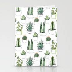 Watercolour Cacti And Su… Stationery Cards