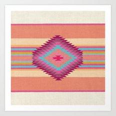 FIESTA (pink) Art Print
