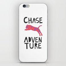 Chase Adventure, nursery art, children's art iPhone & iPod Skin