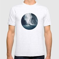 Bowen Falls 1 Mens Fitted Tee Ash Grey SMALL