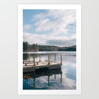 The Dock Art Print