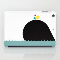 CMYK Whale iPad Case