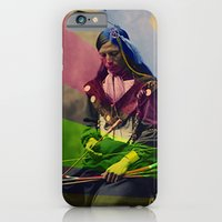 native american iPhone & iPod Cases featuring Native American by Owen Addicott
