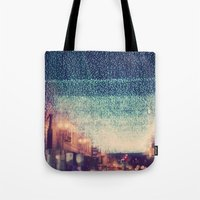 Starry Night. Downtown L… Tote Bag