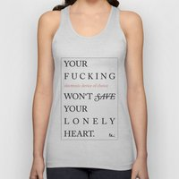 YOUR LONELY HEART Unisex Tank Top