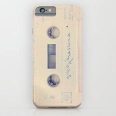 vintage cassette iPhone 6 Slim Case