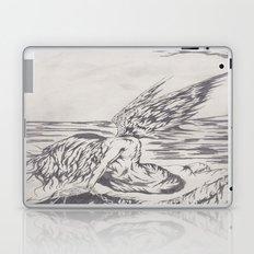 angel on rocks Laptop & iPad Skin