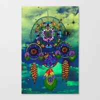 Dream Catching Canvas Print
