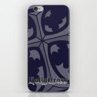 Hollycross Logo iPhone & iPod Skin
