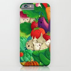 Nice People Eat Vegetables - background (Made with Danny Ivan) iPhone 6 Slim Case