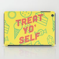 Treat Yo' Self iPad Case