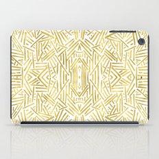 Radiate - Gold iPad Case
