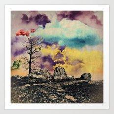 Colorful Clouds Art Print