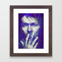 Tribute To The Legend  Framed Art Print
