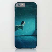 iPhone & iPod Case featuring swimming girl by ihavenonameandadress