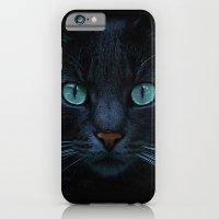 eyes of blue iPhone 6 Slim Case