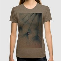 dandelion Womens Fitted Tee Tri-Coffee SMALL