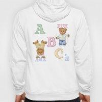 Teddy Bear Alphabet ABC'… Hoody