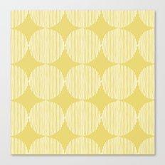 Sunny Circles Canvas Print