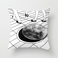 Moonhole Throw Pillow