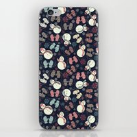 winter fun iPhone & iPod Skin