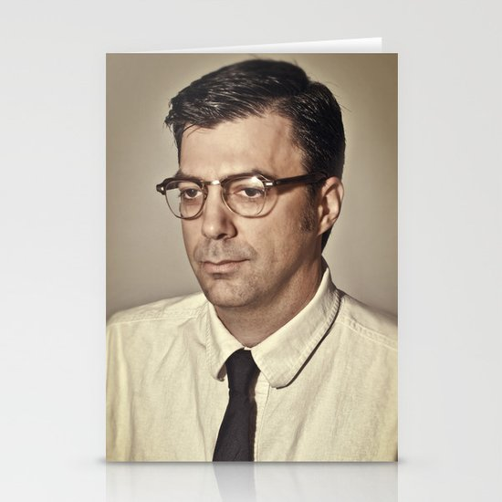 i.am.nerd. :: mike u. Stationery Card